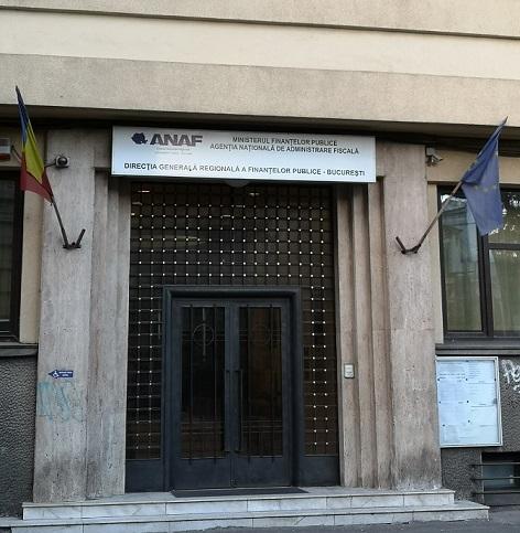 Sediul D.G.R.F.P.-Bucuresti